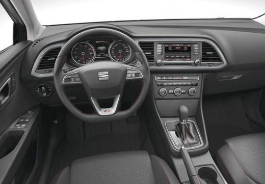 SEAT Leon IV hatchback tablica rozdzielcza