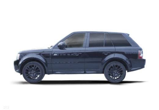 LAND ROVER Range Rover Sport III kombi czarny boczny lewy
