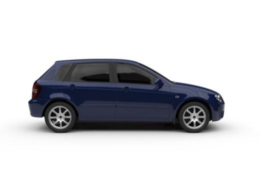 KIA Cerato hatchback boczny prawy