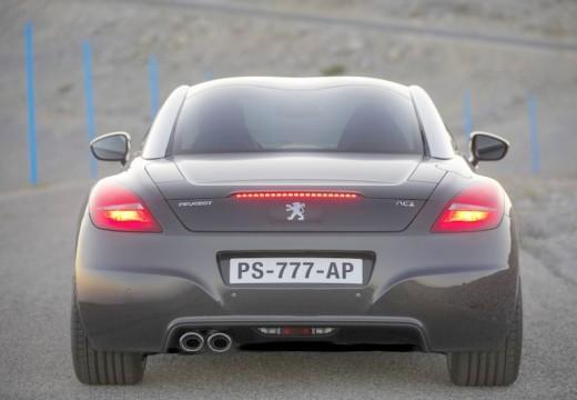 PEUGEOT RCZ coupe czarny tylny