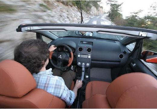 MITSUBISHI Colt kabriolet silver grey tablica rozdzielcza