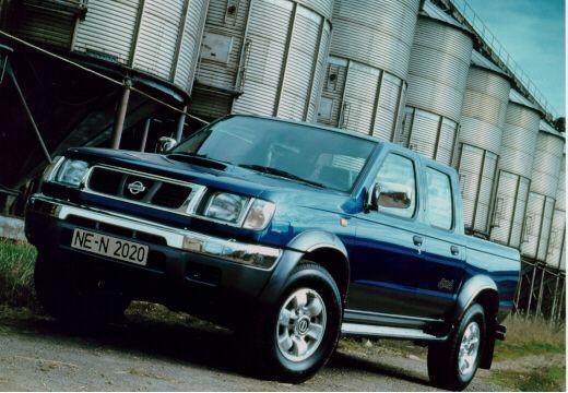 NISSAN Pick Up Navara I pickup niebieski jasny przedni lewy
