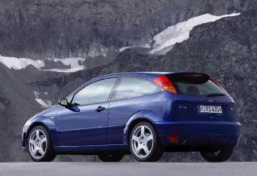 FORD Focus II hatchback niebieski jasny tylny lewy