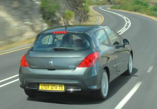 PEUGEOT 308 I hatchback szary ciemny tylny prawy