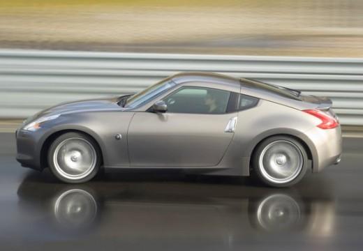 NISSAN 370 Z I coupe silver grey boczny lewy