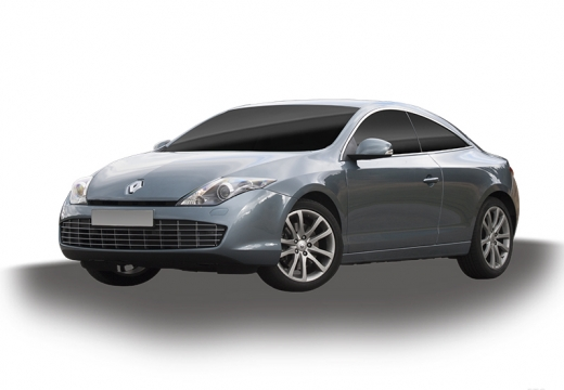 RENAULT Laguna I coupe silver grey