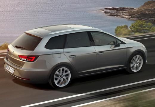 SEAT Leon ST I kombi silver grey tylny prawy