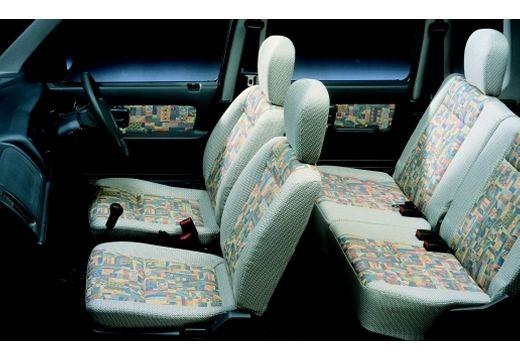 SUZUKI Wagon R+ hatchback wnętrze