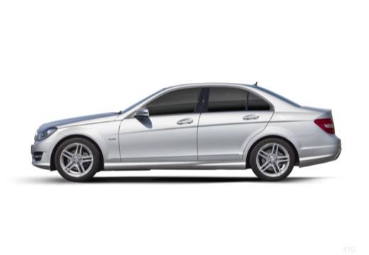 MERCEDES-BENZ Klasa C W 204 II sedan boczny lewy