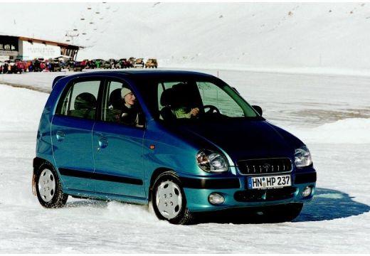 HYUNDAI Atos hatchback zielony przedni prawy