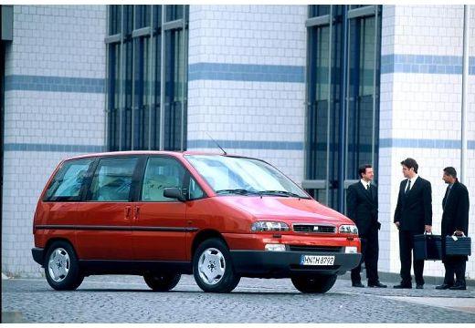 FIAT Ulysse II van bordeaux (czerwony ciemny) przedni prawy