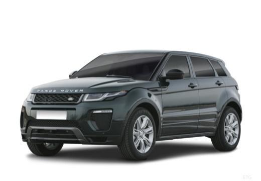 LAND ROVER Range Rover Evoque II kombi czarny przedni lewy