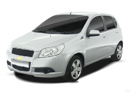 CHEVROLET Aveo hatchback silver grey