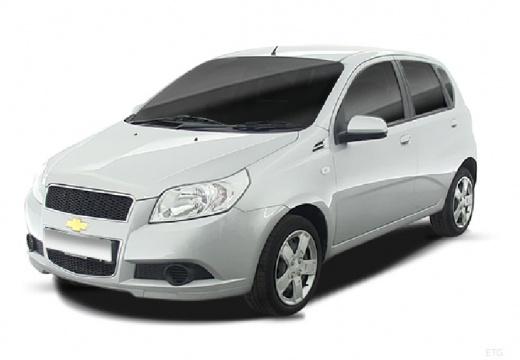 CHEVROLET Aveo II hatchback silver grey