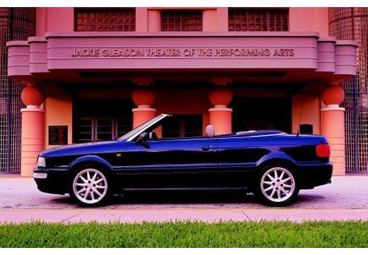 AUDI 80 Cabriolet 89 kabriolet niebieski jasny boczny lewy