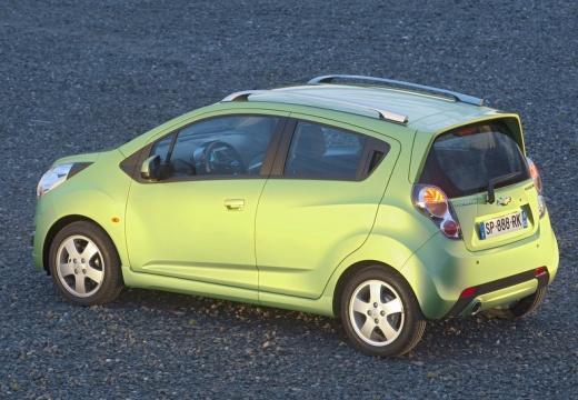 CHEVROLET Spark II hatchback zielony tylny lewy