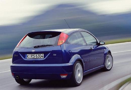 FORD Focus II hatchback niebieski jasny tylny prawy