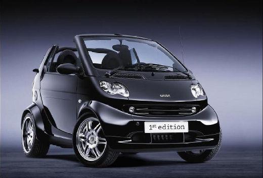 SMART fortwo cabrio I kabriolet czarny przedni prawy