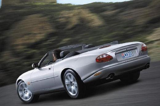 JAGUAR XK8 XKR Convertible kabriolet silver grey tylny lewy