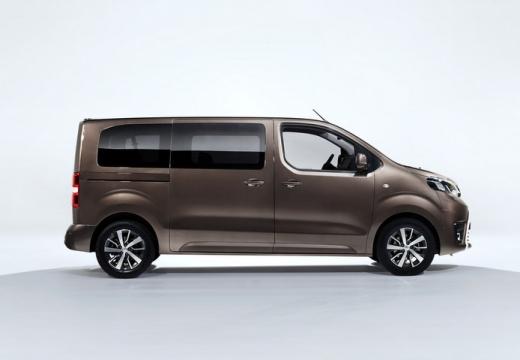 Toyota Proace Verso kombi mpv brązowy boczny prawy