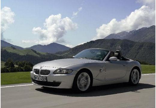 BMW Z4 roadster silver grey przedni lewy