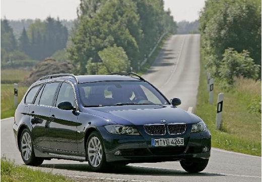 BMW Seria 3 Touring E91 I kombi szary ciemny przedni prawy