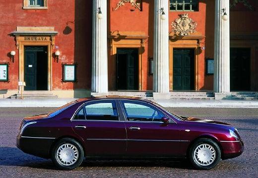 LANCIA Thesis I sedan bordeaux (czerwony ciemny) boczny prawy