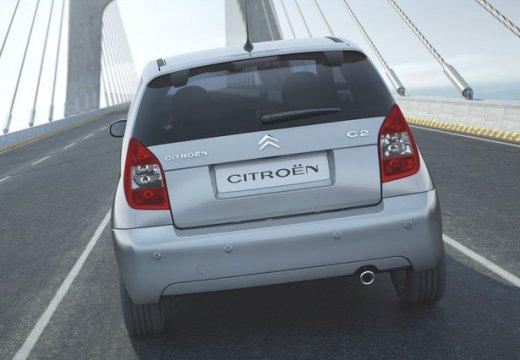 CITROEN C2 hatchback silver grey tylny