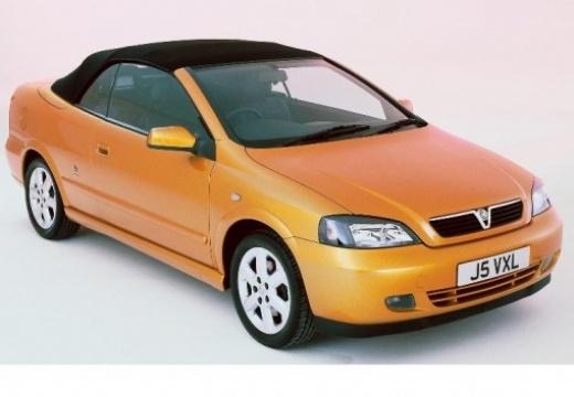 OPEL Astra II Cabriolet kabriolet pomarańczowy przedni prawy