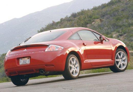 MITSUBISHI Eclipse V coupe czerwony jasny tylny prawy