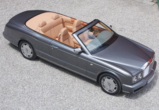 BENTLEY Azure kabriolet silver grey przedni prawy