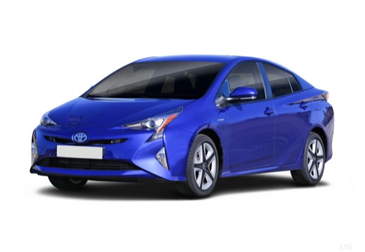Toyota Prius IV hatchback przedni lewy