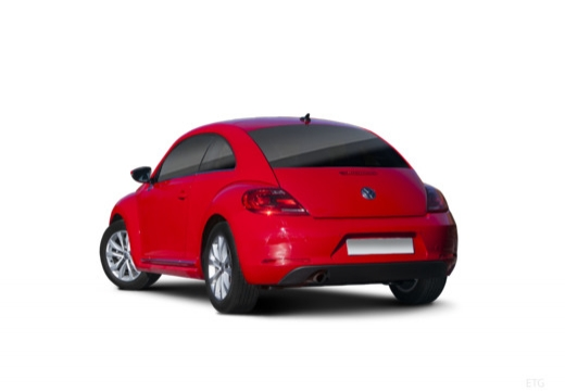 VOLKSWAGEN New Beetle Beetle I coupe czerwony jasny tylny lewy