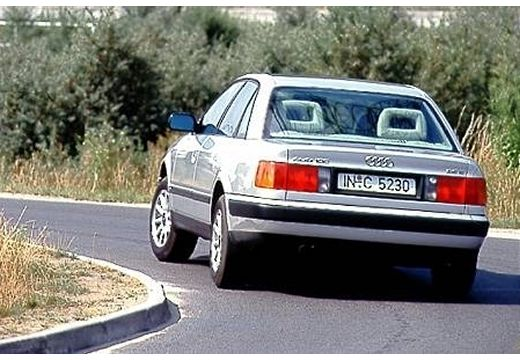 AUDI 100 C4 sedan silver grey tylny lewy