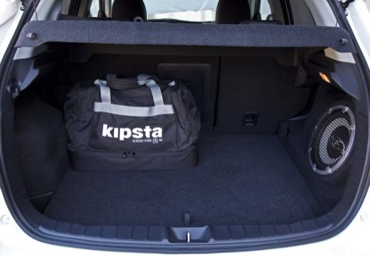 MITSUBISHI ASX I hatchback biały przestrzeń załadunkowa