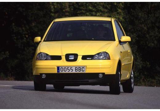 SEAT Arosa II hatchback żółty przedni lewy