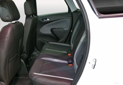 OPEL Crossland X I hatchback wnętrze
