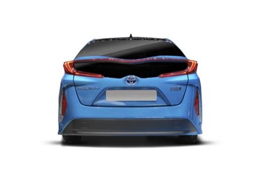 Toyota Prius hatchback tylny
