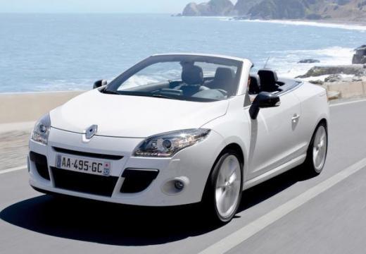 RENAULT Megane III CC kabriolet biały przedni lewy