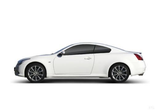 INFINITI G35 coupe biały boczny lewy