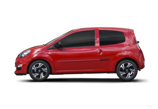 RENAULT Twingo hatchback czerwony jasny boczny lewy