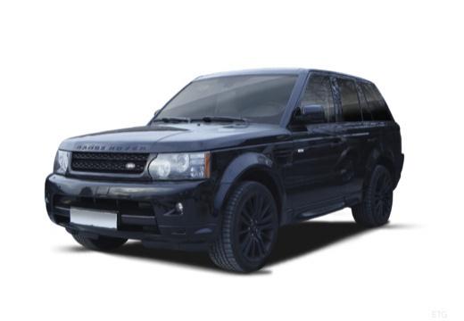 LAND ROVER Range Rover kombi czarny przedni lewy