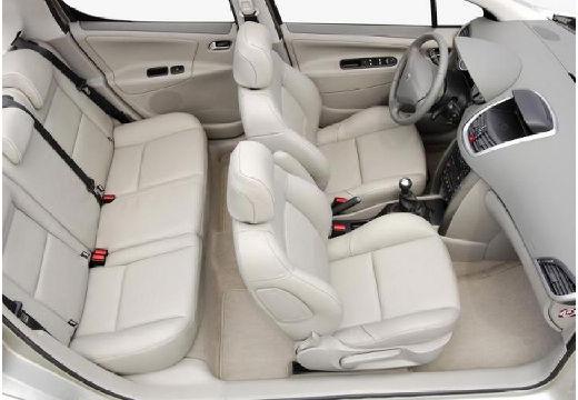 PEUGEOT 207 I hatchback silver grey wnętrze