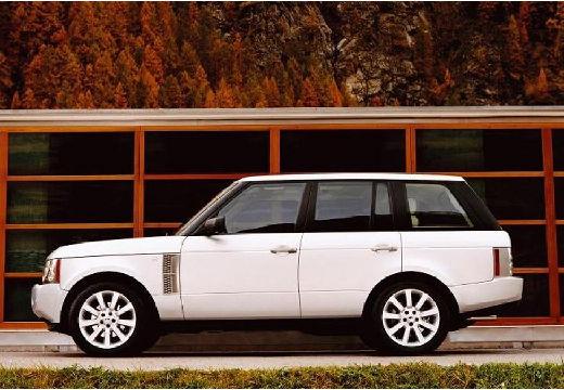 LAND ROVER Range Rover IV kombi biały boczny lewy