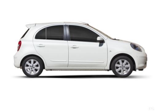 NISSAN Micra VIII hatchback boczny prawy
