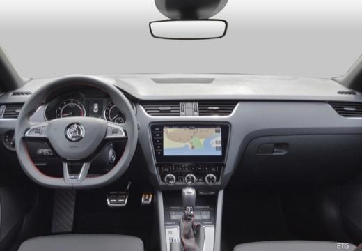SKODA Octavia III II hatchback tablica rozdzielcza