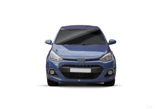 HYUNDAI i10 III hatchback niebieski jasny przedni