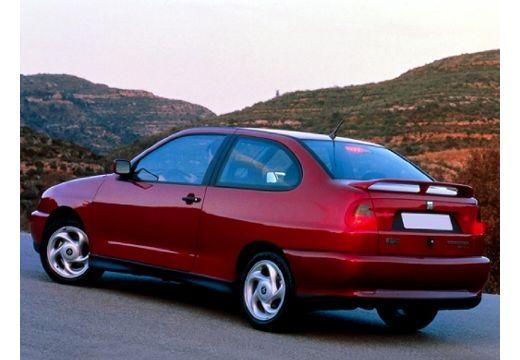SEAT Cordoba SX I coupe bordeaux (czerwony ciemny) tylny lewy
