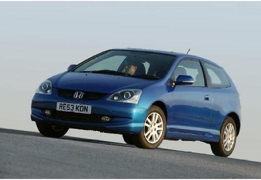 HONDA Civic hatchback niebieski jasny przedni lewy