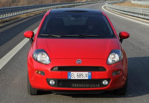 FIAT Punto II hatchback czerwony jasny przedni